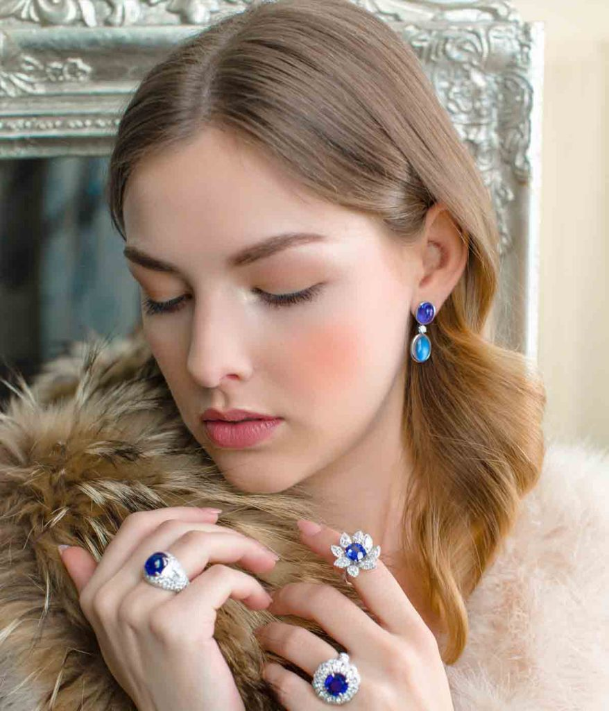 Pret et Porter Sapphire & Diamond Jewellery by Knauf
